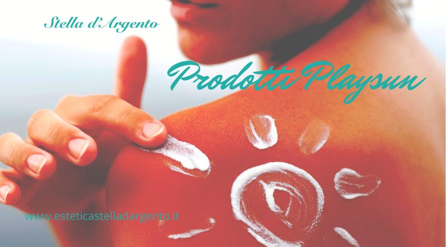 Prodotti Playsun: abbronzatura dorata e antiage